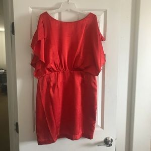 Calvin Klein red dress